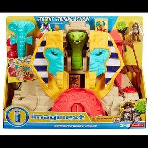 imaginext Serpent Strike Pyramid